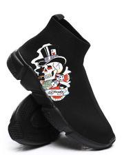 Ed Hardy - Skeleton Sock Sneakers-2669149