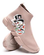 Ed Hardy - Skeleton Sock Sneakers-2669279
