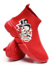 Ed Hardy - Skeleton Sock Sneakers-2669288