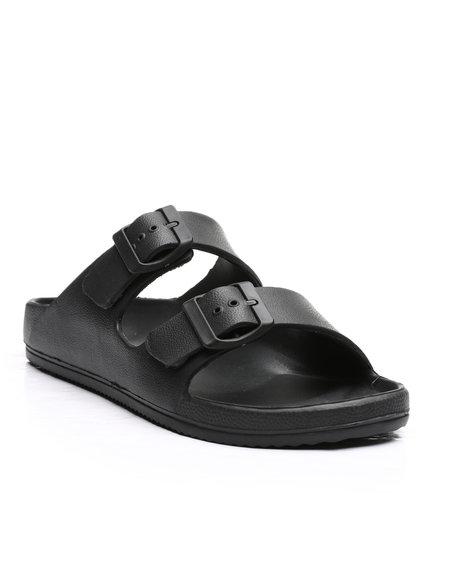 Fashion Lab - EVA Double Strap Slip On Sandals