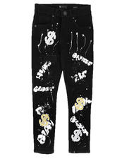 Jeans - Graffiti All Over Print Jeans (8-20)-2669827