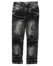 Bottoms - Rip & Repair Stretch Jeans (8-18)-2670747
