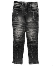 Jeans - Distressed Moto Jeans (8-18)-2670768