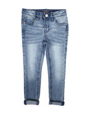Bottoms - Convertible Skinny Jeans (4-6X)-2670530