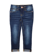 Bottoms - Convertible Skinny Jeans (4-6X)-2670545