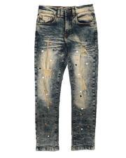 Jeans - Paint Splatter Distressed Jeans (8-18)-2670610