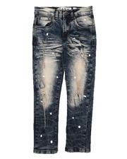 Jeans - Paint Splatter Distressed Jeans (8-18)-2670622