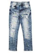 Jeans - Paint Splatter Distressed Jeans (8-18)-2670629