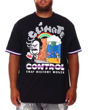 Mitchell & Ness - Climate Control T-Shirt (B&T)-2670962