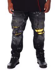 Makobi - Distressed Knee Denim Jeans (B&T)-2671958