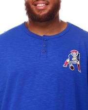 Mitchell & Ness - Patriots Slub Knit Long Sleeve T-Shirt (B&T)-2670826