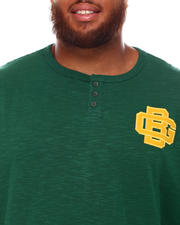 Mitchell & Ness - Packers Slub Knit Long Sleeve T-Shirt (B&T)-2670845