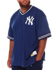 Mitchell & Ness - Yankees Mesh V-Neck (B&T)-2670891