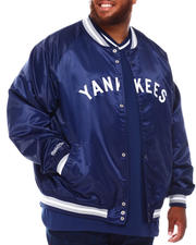 Mitchell & Ness - Yankees Lightweight Satin Jacket (B&T)-2670912