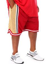 Shorts - Colorblock Mesh Basketball Shorts (B&T)-2671127