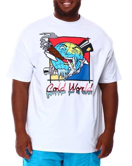 Frost Originals - Cold World T-Shirt (B&T)