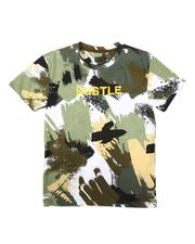 SASCO - Abstract All Over Print Tee W/ Verbiage (8-18)-2670309