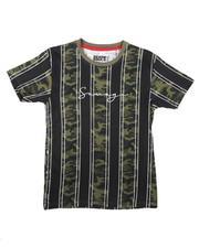 SASCO - Striped Camo T-Shirt W/ Embroidery (8-18)-2670432