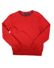 Polo Ralph Lauren - Logo Trim Sweatshirt (8-20)-2670447