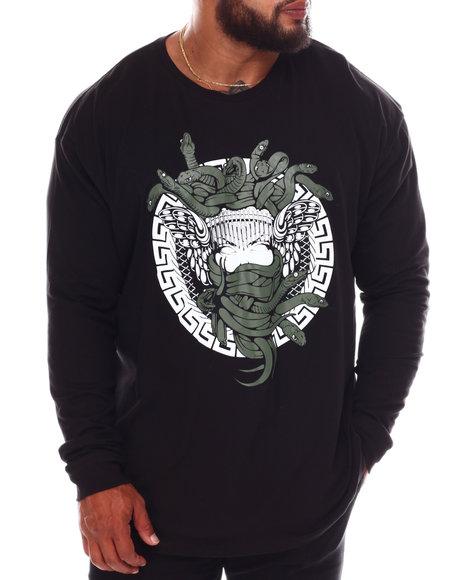 Crooks & Castles - Hydra Long Sleeve T-Shirt (B&T)