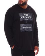 Crooks & Castles - Zebra Klepto Long Sleeve T-Shirt (B&T)-2672097