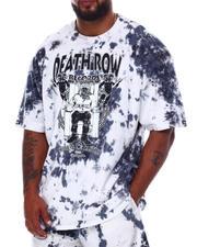 Crooks & Castles - Death Row Angels Tie Dye T-Shirt (B&T)-2671045