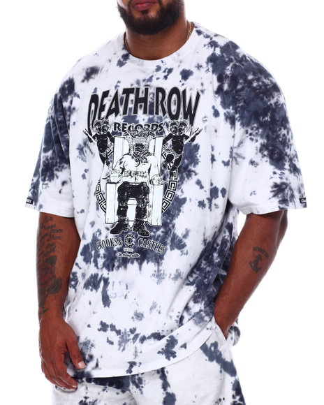Crooks & Castles - Death Row Angels Tie Dye T-Shirt (B&T)