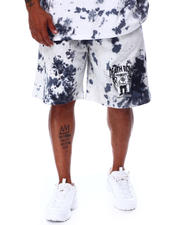 Crooks & Castles - Death Row Tie Dye Shorts (B&T)-2671096