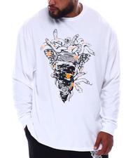 Crooks & Castles - Bandusa Endless Long Sleeve T-Shirt (B&T)-2672067