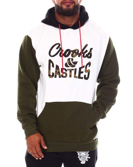 Crooks & Castles - Reverse Logo Hoodie (B&T)