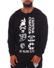 Crooks & Castles - Demon Long Sleeve T-Shirt (B&T)-2672077