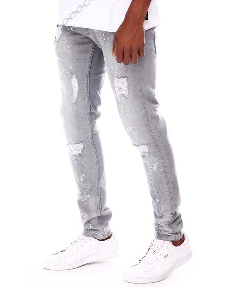 Buyers Picks - Rip and Repair Splatter Paint Jean
