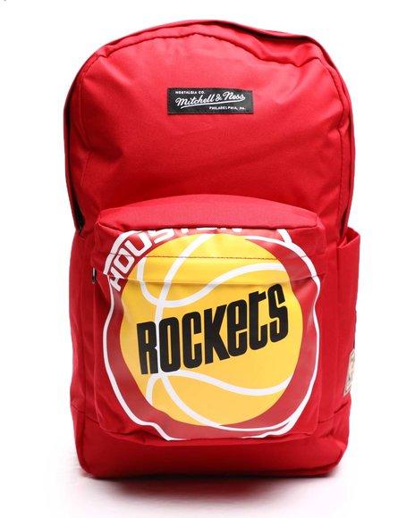 Mitchell & Ness - Houston Rockets Backpack (Unisex)