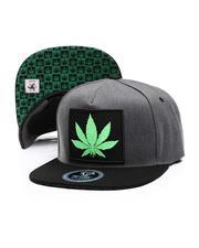 Hats - Marijuana Snapback Hat-2674211