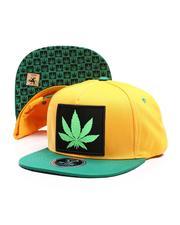Hats - Marijuana Snapback Hat-2674229