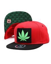 Hats - Marijuana Snapback Hat-2674309