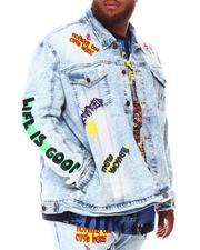 Buyers Picks - Elevated Graffiti Denim Jacket (B&T)-2674385