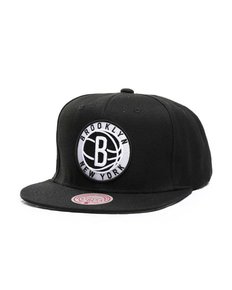Mitchell & Ness - Brooklyn Nets Inverted Team Color Snapback Hat