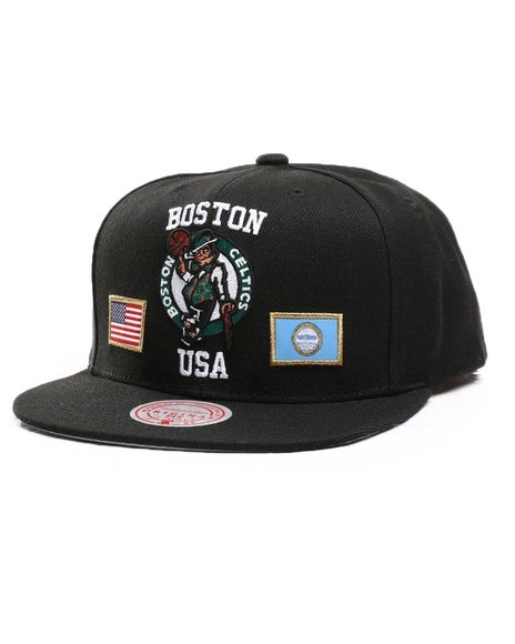 Mitchell & Ness - Boston Celtics USA City Pride Snapback Hat
