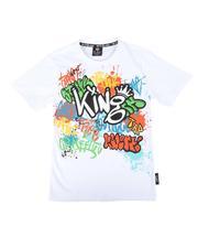 Tops - Graffiti Print Tee (8-20)-2672520