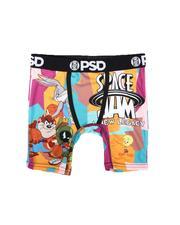 PSD UNDERWEAR - Space Jam - Clear Black Boxer Briefs (Youth)-2673673