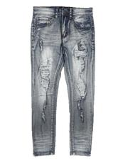 Arcade Styles - Rip & Repair Backed Jeans (8-20)-2672385