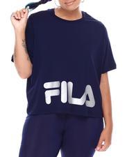 Fila - Ahead of The Curve Crew Neck Tee(Plus)-2668238