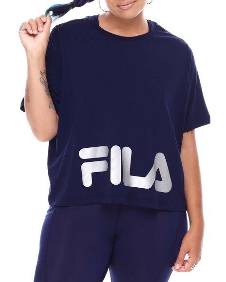 Fila - Ahead of The Curve Crew Neck Tee(Plus)