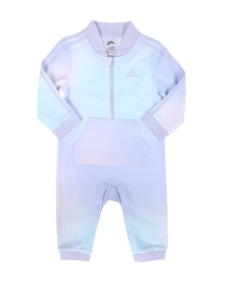 Adidas - Printed French Terry Coveralls (3-24Mo)