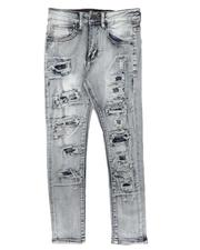Arcade Styles - Rip & Repair Backed Jeans (8-20)-2673170