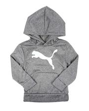 Puma - Poly Fleece  Pullover Hoodie (4-7)-2673959