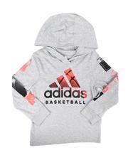 Adidas - Goals Hooded Heather Tee (2T-7)-2674577