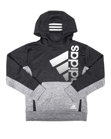 Adidas - Colorblock Melange Hooded Pullover (8-20)