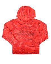 Adidas - Warp Camo AOP Hooded Pullover (8-20)-2674618